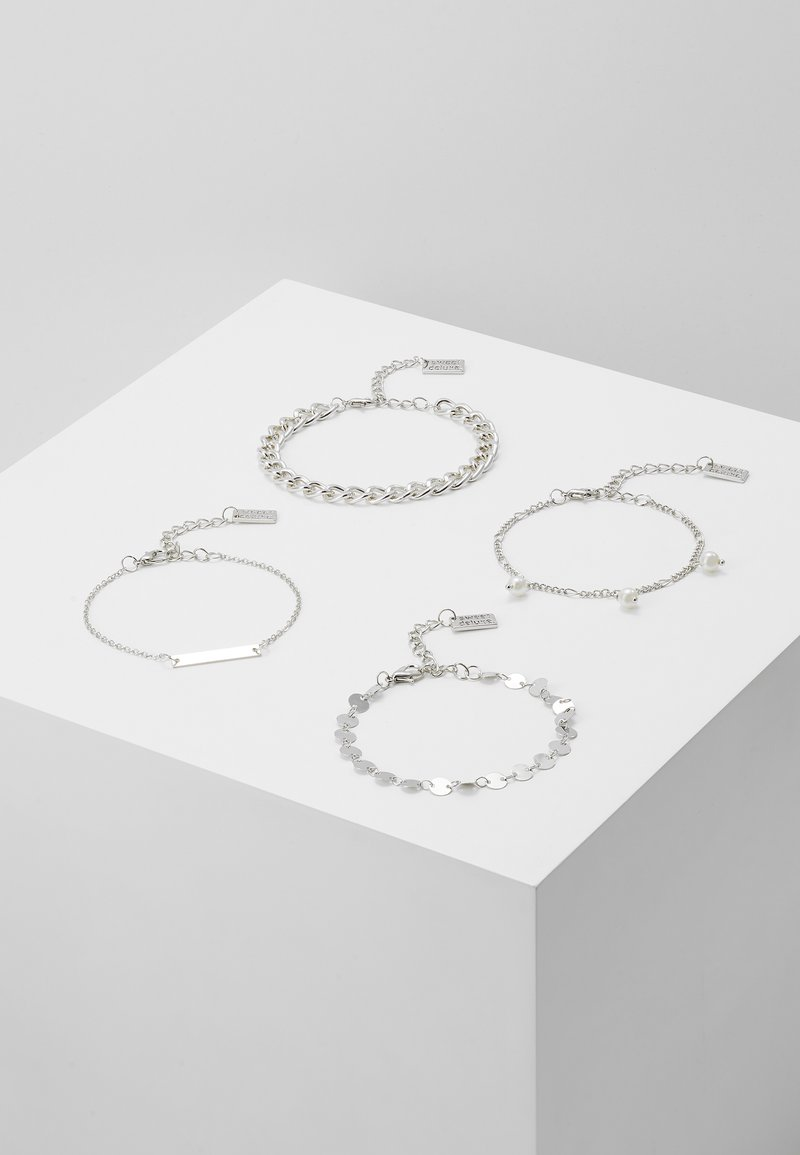 sweet deluxe - 4 PACK - Bracelet - silver-coloured