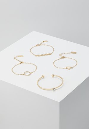 4 PACK - Bracciale - gold-coloured