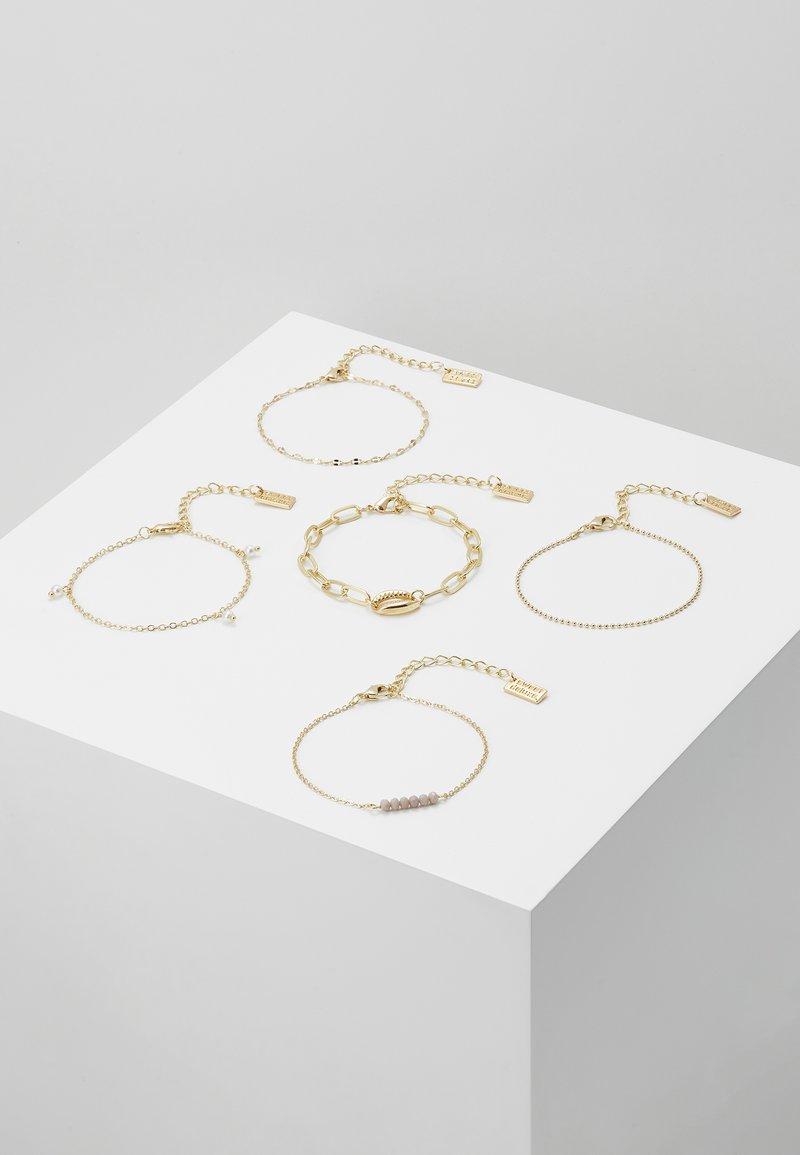 sweet deluxe - 5 PACK - Bracelet - gold-coloured