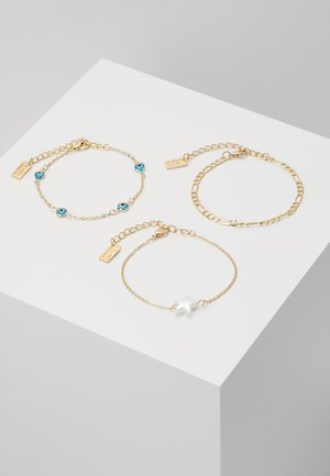 3PACK - Pulsera - gold-coloured