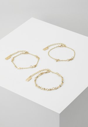 3 PACK - Armbånd - gold-coloured