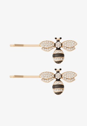 2 PACK - Hair styling accessory - gold-coloured