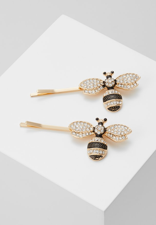 2 PACK - Accessori capelli - gold-coloured