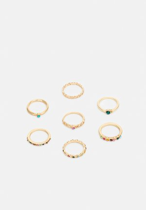 RINGS FOR EVERY FINGER 7 PACK - Bague - gold-coloured