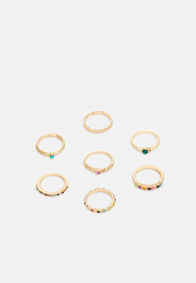 RINGS FOR EVERY FINGER 7 PACK - Ringe - gold-coloured