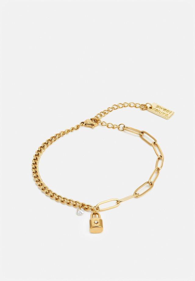 LINK CHAIN BRACELETS - Armbånd - gold-coloured