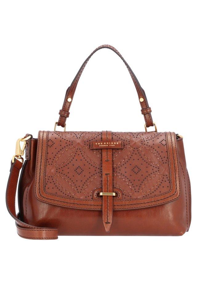 CERBOLI - Handtasche - brown gold