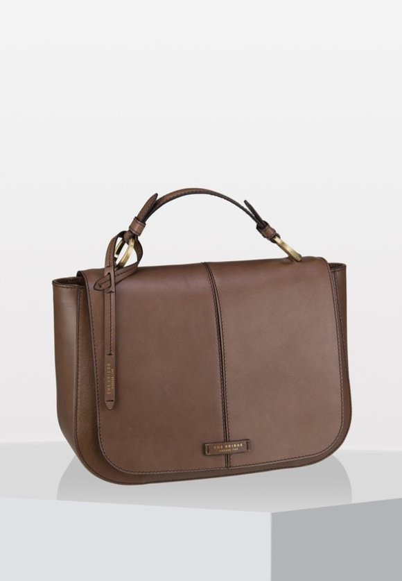 FAENTINA - Handbag - taupe