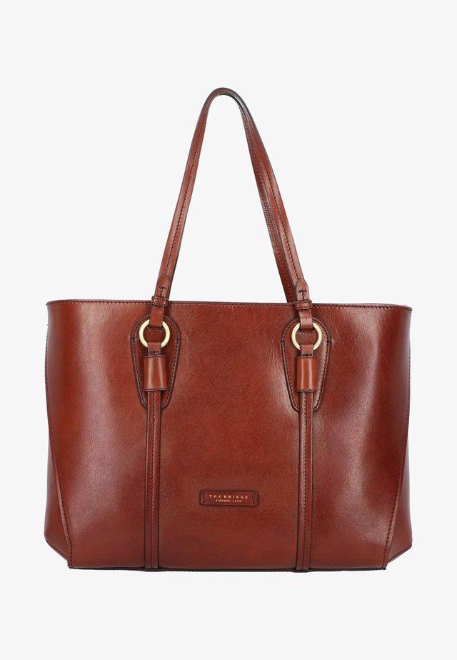 STROZZI  - Tote bag - marrone