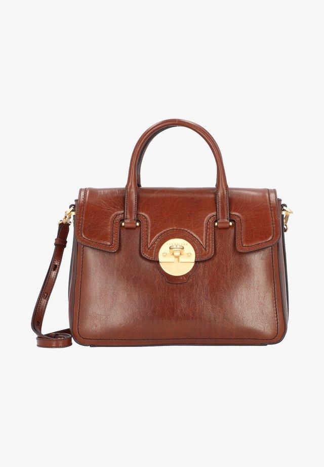 CORSINI HANDTASCHE LEDER 34 CM - Handtasche - brown