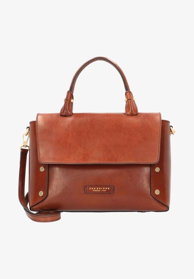ELEONORA HANDTASCHE LEDER 30 CM - Handtasche - marrone