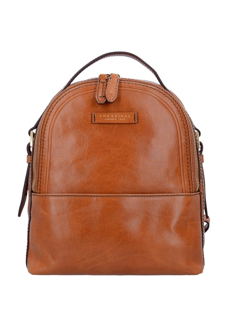 The Bridge THE BRIDGE PEARLDISTRICT CITY RUCKSACK LEDER 32 CM - Zaino - cognac