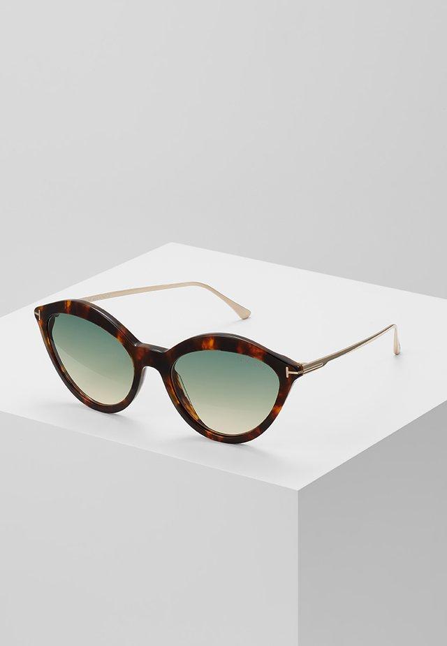 Okulary przeciwsłoneczne - mottled brown
