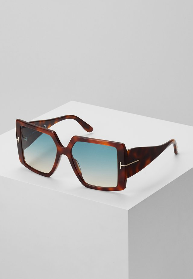 Sonnenbrille - mottled brown