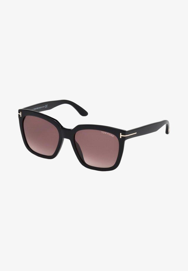 AMARRA  - Sunglasses - shiny black/burgundy
