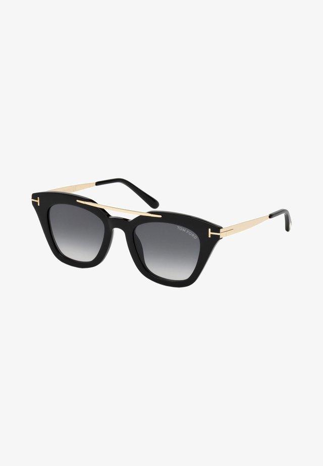 Sunglasses - shiny black/grey shaded