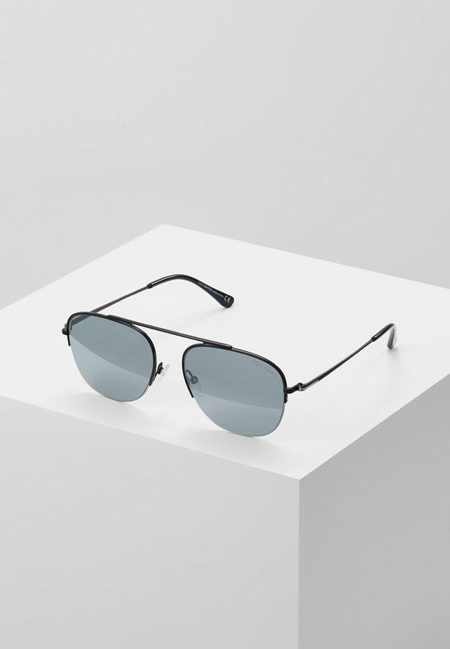 Sunglasses - black/silver