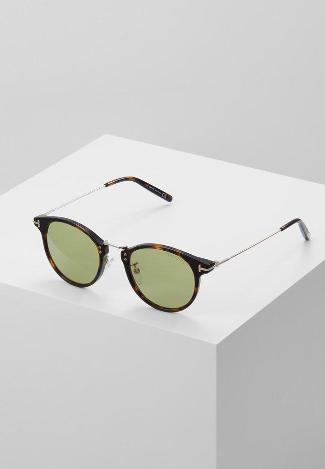 Sonnenbrille - tort/gold
