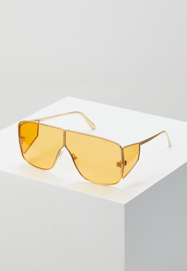 Sonnenbrille - yellow/gold
