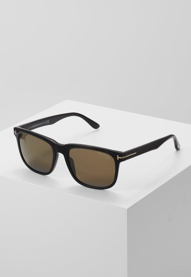 Okulary przeciwsłoneczne - shiny black/brown