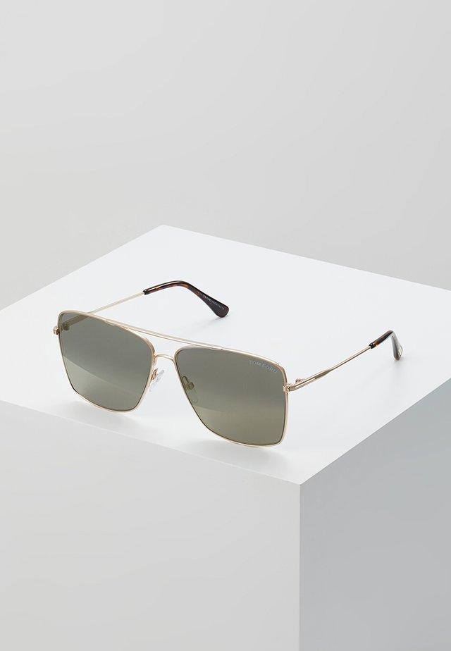 Sonnenbrille - gold/silver