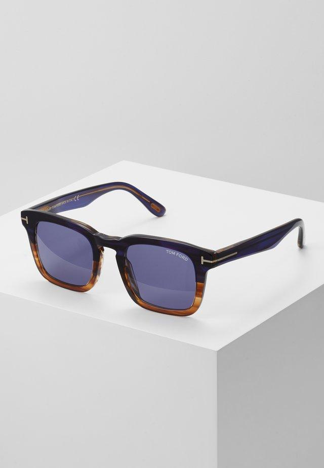 Sonnenbrille - navy havana