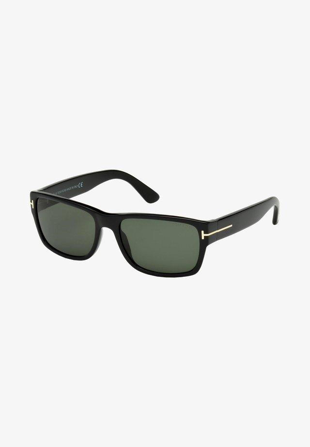 MASON  - Sunglasses - shiny black/green