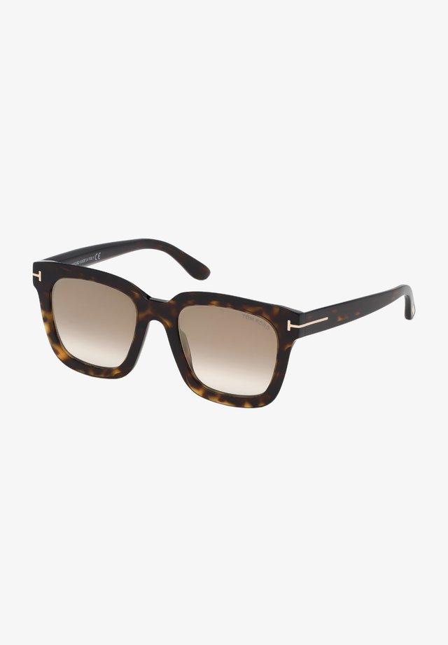 SARI FT  - Sunglasses - dark havana/brown shaded
