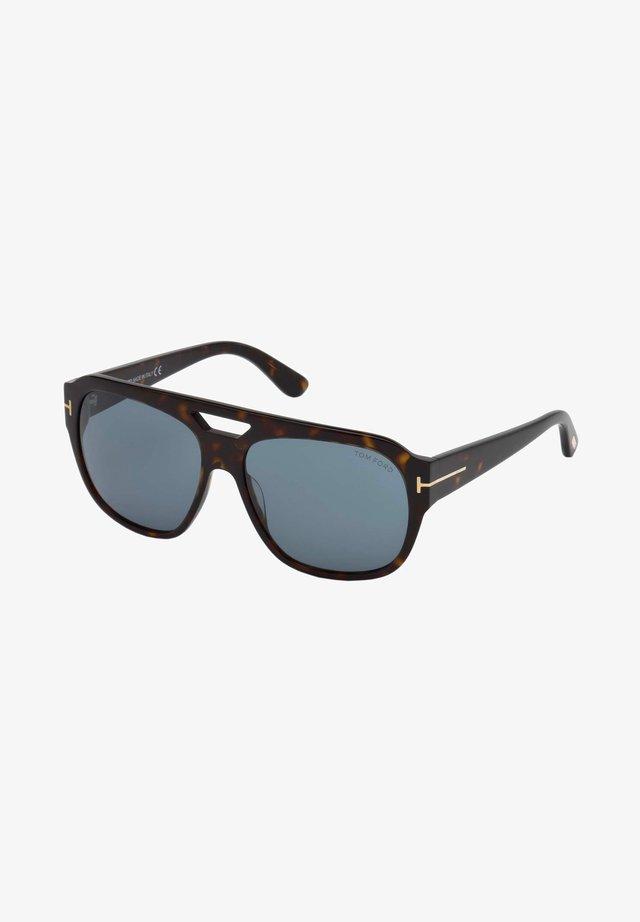 HAVANA - Sunglasses - dark havana/blue