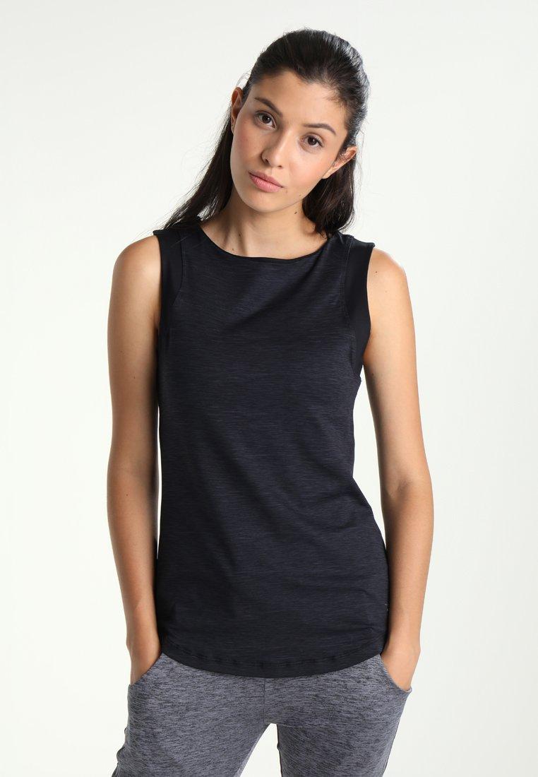 Venice Beach - ASTRID - Sports shirt - melange black