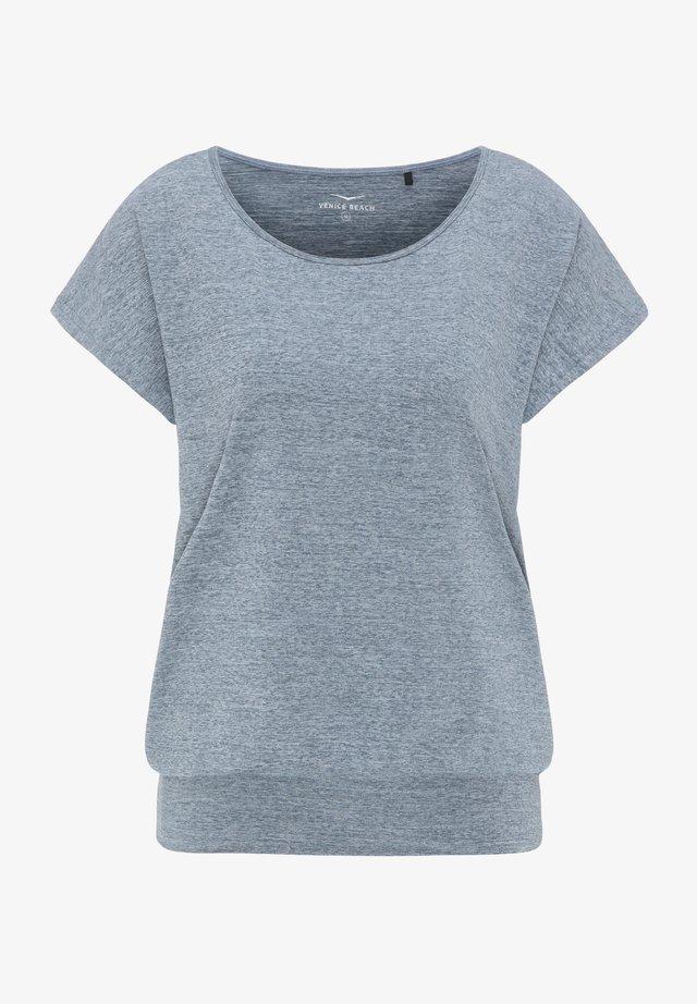 RIA - Basic T-shirt - blue grey