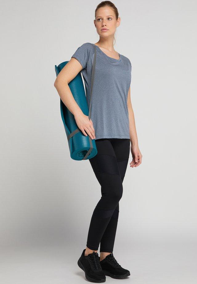 DERYA - Basic T-shirt - blue grey