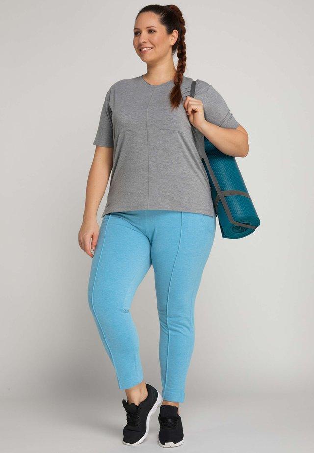 Basic T-shirt - light greymelange