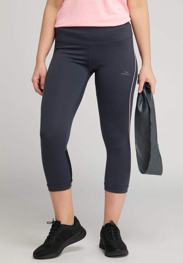 VENICE BEACH CAPRI-HOSE VB_KIMBERLY - 3/4 sports trousers - graphit tulip