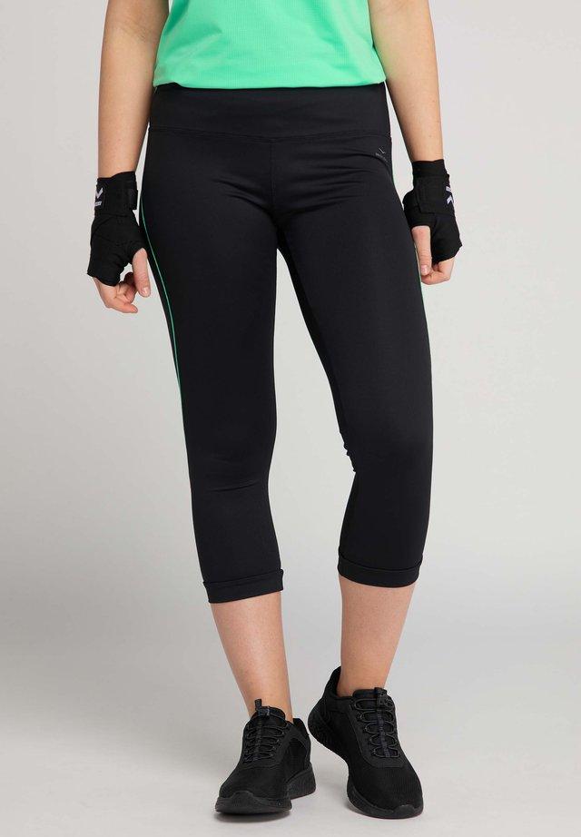 VENICE BEACH CAPRI-HOSE VB_KIMBERLY - 3/4 sports trousers - black_spearmint
