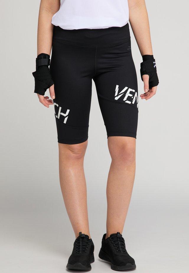 FIBI - 3/4 sports trousers - black