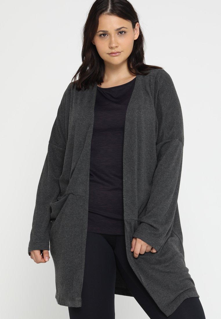 Venice Beach - PIPPA JACKET - Sweatjakke /Træningstrøjer - dark grey melange