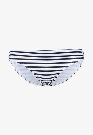Bikinibroekje - white/navy