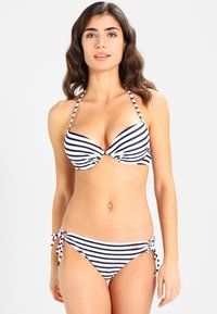 Venice Beach - PUSH UP - Bikini pezzo sopra - white-navy