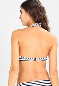Venice Beach - PUSH UP - Haut de bikini - white-navy - 2
