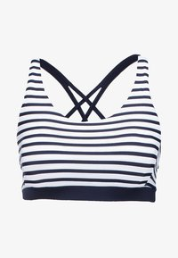 Venice Beach - BUSTIER - Bikinitop - white/navy - 5