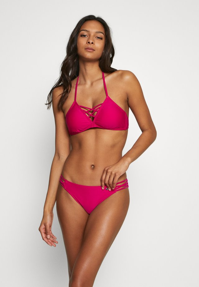 TRIANGLE SET - Bikiny - berry