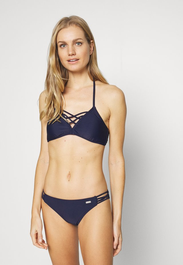 TRIANGLE SET - Bikini - navy