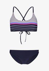 Venice Beach - SET - Bikini - navy stripe - 3