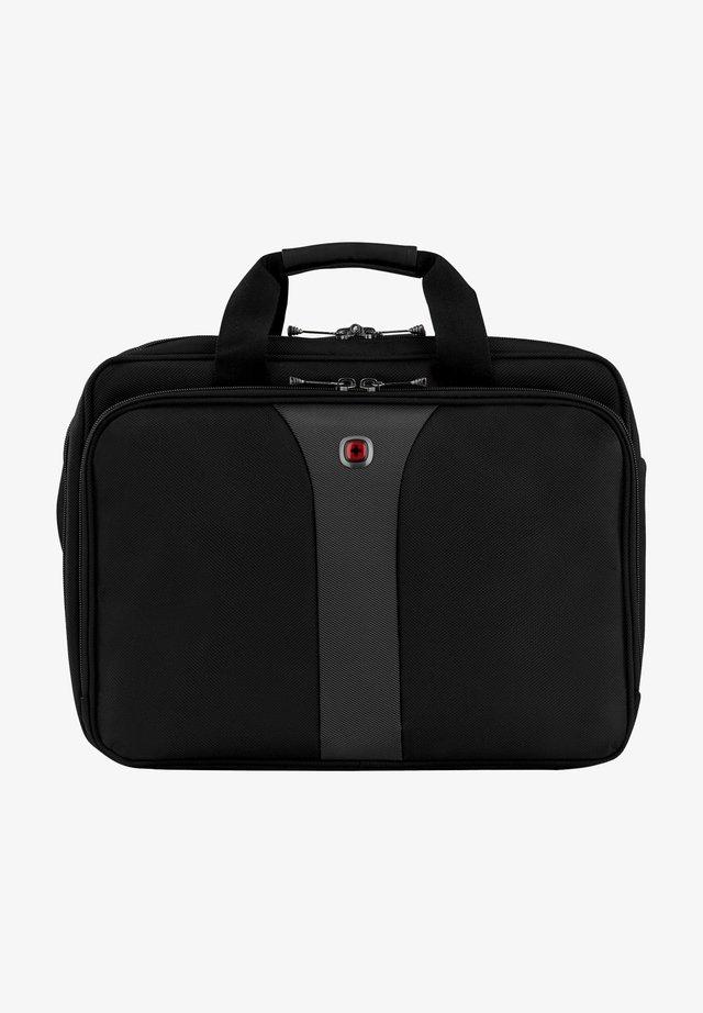 Briefcase - black / grey