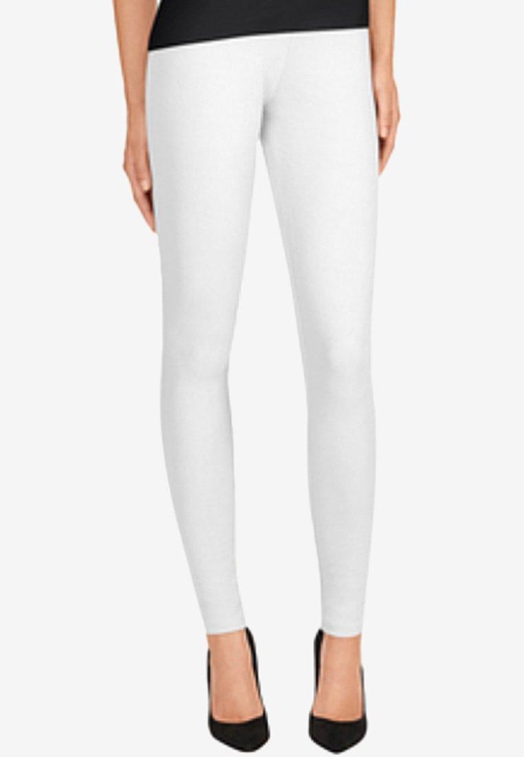 Wolford - STRUCTURED - Leggings - Hosen - white