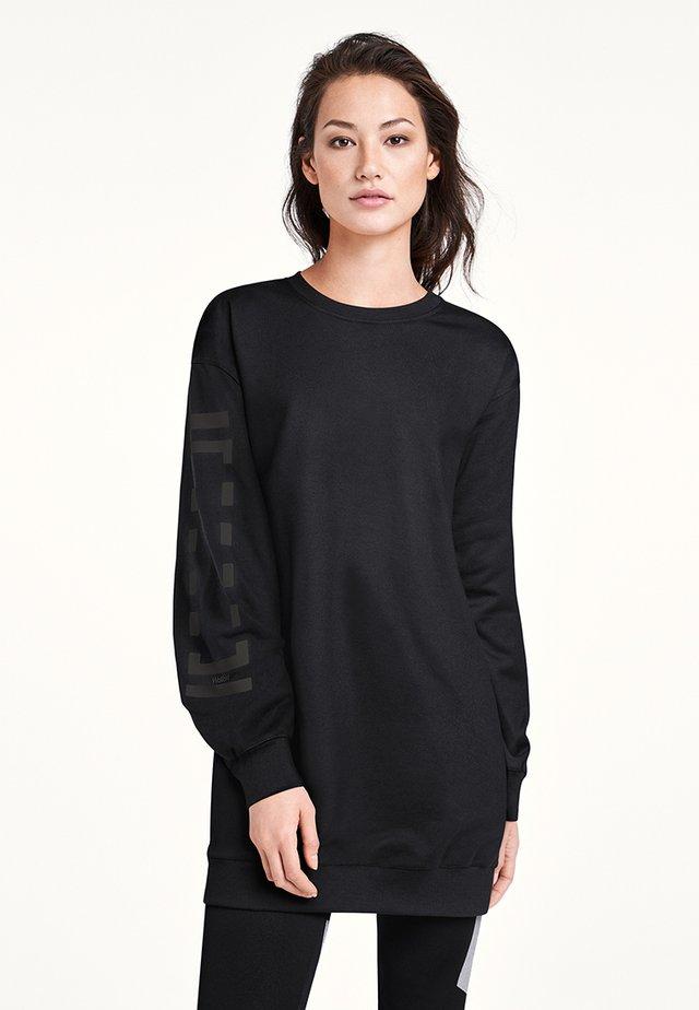 Korte jurk - black/steel
