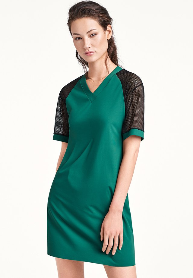 Vestito estivo - dark jade/black