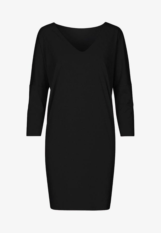 PURE CUT - Jerseykleid - black