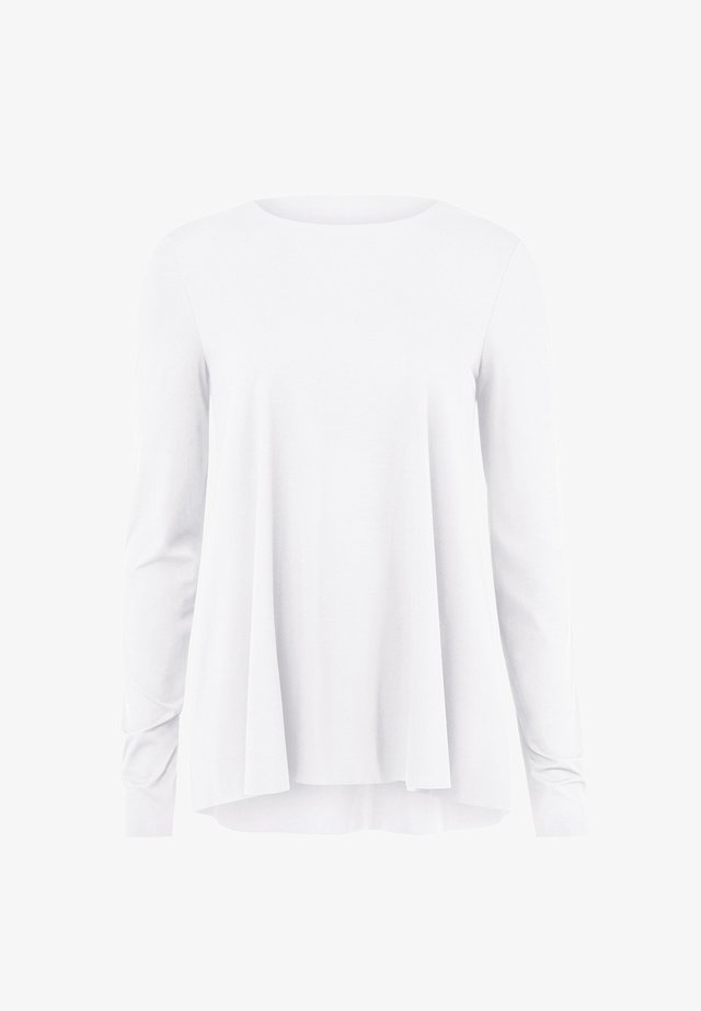 AURORA - Long sleeved top - white